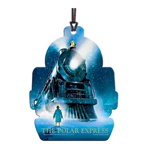 Polar Express Train Hanging Acrylic Print