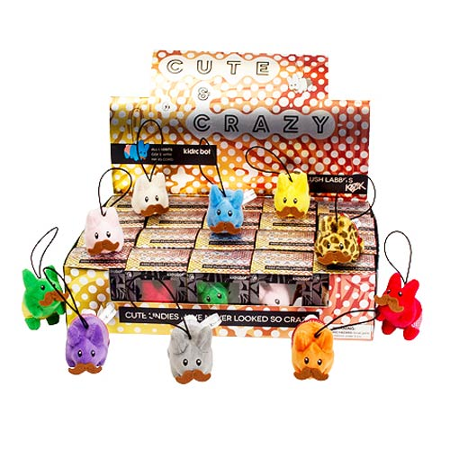 Frank Kozik Cute And Crazy Happy Labbit Plush Display Tray