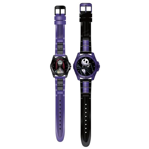 nightmare before christmas jack and sally watch 2 pack set buy online in oman accutime products in oman see prices reviews and free delivery in - Nightmare Before Christmas Watch Online