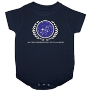 Star Trek United Federation of Planets Onesie