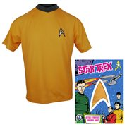 Star Trek: The Original Series Command Gold Retro Starfleet Uniform T-Shirt