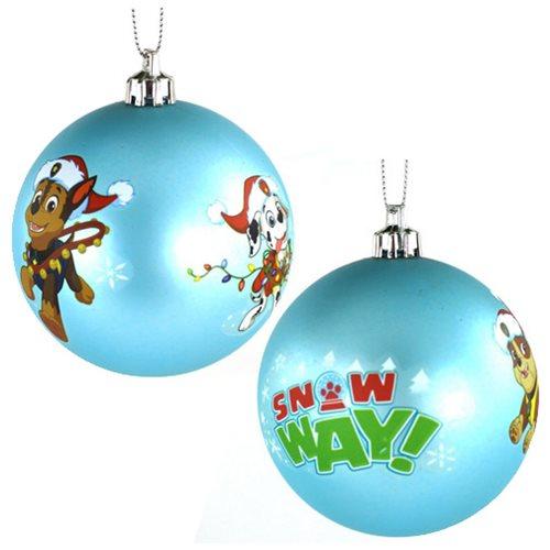paw patrol ball ornament - Paw Patrol Christmas Tree Decorations