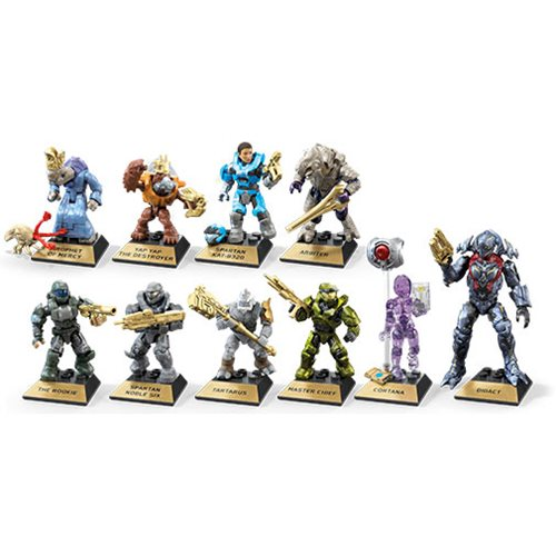 Halo Mega Construx Heroes Series 10 Mini-Figure Case