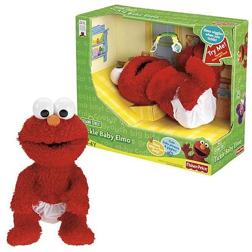 Sesame Street Tickle Baby Elmo