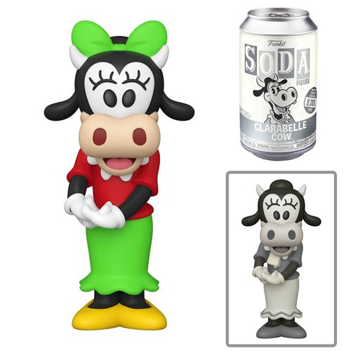 Disney Clarabelle Cow Vinyl Soda Figure