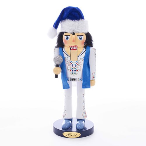 Elvis Presley King Of Spades 11-Inch Nutcracker
