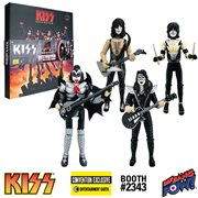 KISS Destroyer 3 3/4-Inch Deluxe Box Set - SDCC Debut
