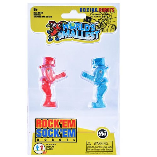World's Smallest Rock 'Em Sock 'Em Robots Game