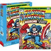 Captain America Cover 500-Piece Puzzle