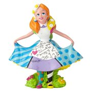 Disney Alice in Wonderland Mini-Statue by Romero Britto