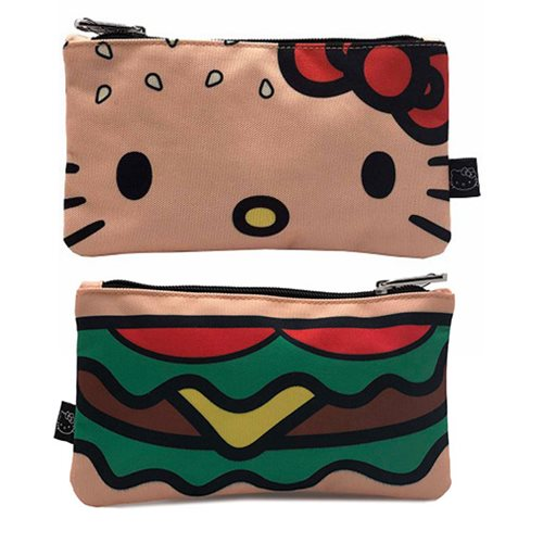 Hello Kitty Burger Travel Cosmetic Bag