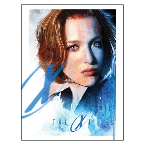 The X-Files Seeker of Truth by Steve Anderson Lithograph Art Print