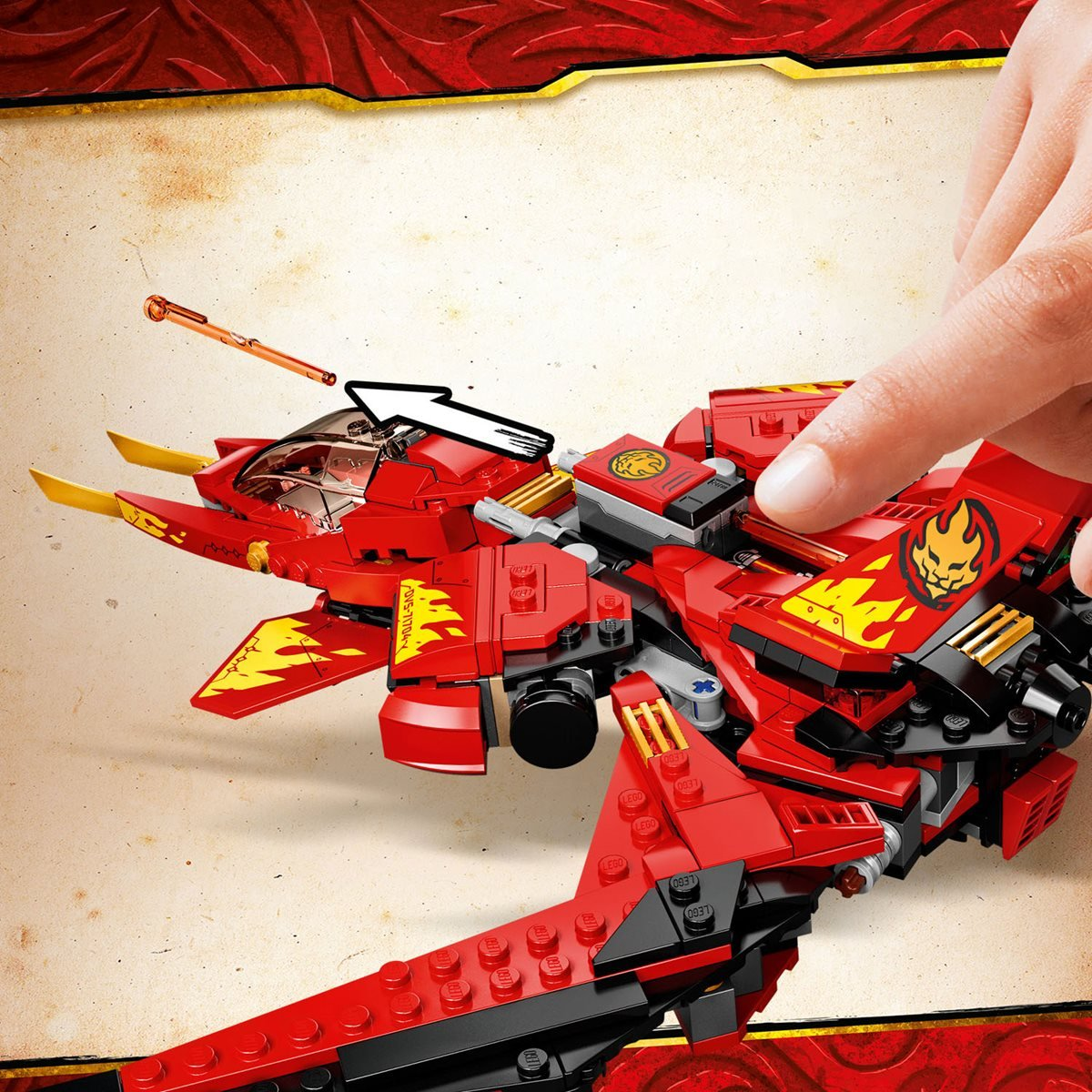 Lego 71704 Ninjago Kai Fighter Entertainment Earth