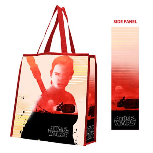 Star Wars: The Force Awakens Rey Large Recycled Shopper Tote Bag