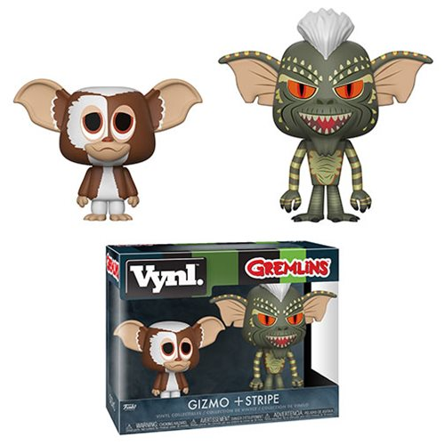 Gremlins Gizmo and Stripe Vynl. Figure 2-Pack, Not Mint