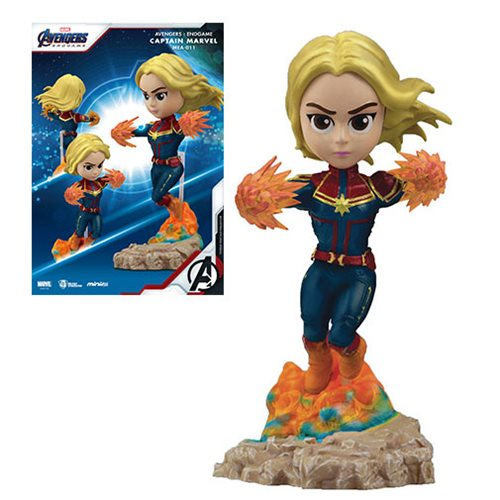 Avengers: Endgame Captain Marvel MEA-011 Figure - Previews Exclusive