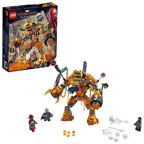 LEGO 76128 Marvel Super Heroes Molten Man Battle