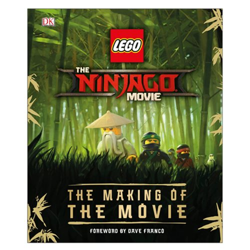 The LEGO Ninjago Movie The Making of the Movie Hardcover Book