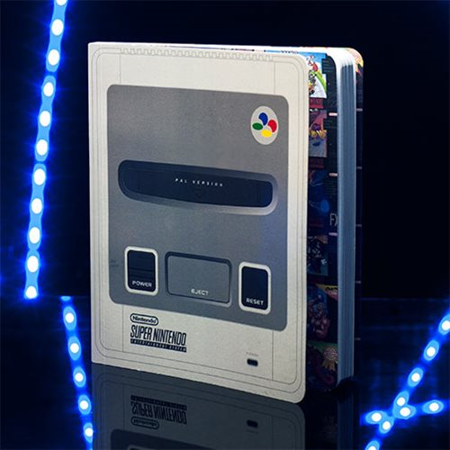 Super Nintendo SNES Console Notebook