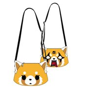 Aggretsuko 2 Face Crossbody Purse