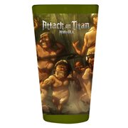 Attack on Titan Rushing Titans Pint Glass