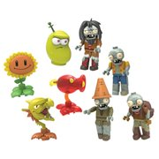 K'NEX Plants Vs. Zombies Mystery Figure Random 6-Pack