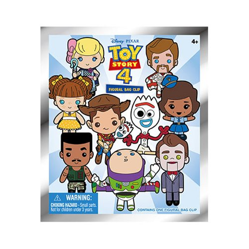 Toy Story 4 Figural Key Chain Display Case