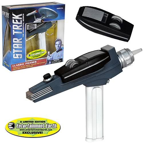 Star Trek Classic White Handle Phaser - EE Exclusive