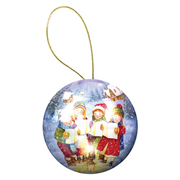 Holiday Ornament Carolers Puzzle