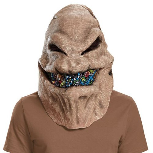 Nightmare Before Christmas Oogie Boogie Deluxe Adult Roleplay Mask