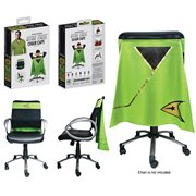 Star Trek: The Original Series Command Green Uniform Chair Cape