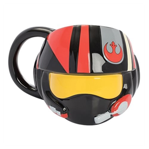 Star Wars: The Last Jedi Resistance Pilot Helmet Premium Sculpted Ceramic Mug
