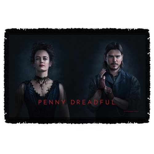 Penny Dreadful Chandler and Ives Woven Tapestry Throw Blanket