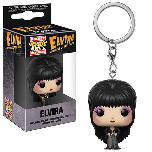 Elvira Pocket Pop! Key Chain
