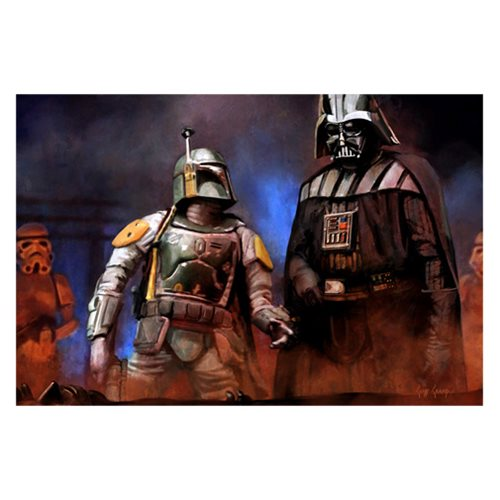 Star Wars He's No Good to Me Dead by Cliff Cramp Canvas Giclee Art Print