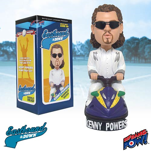 Eastbound & Down Kenny Powers White Suit Bobble Head
