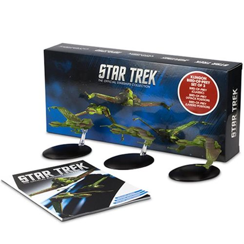 Star Trek Starships Bird of Prey Set with Collector Magazine