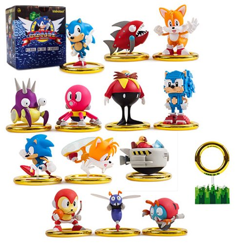 Sonic The Hedgehog Mini Figures Display Tray Entertainment Earth