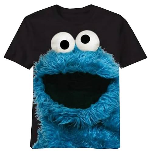Sesame Street Big Photo Cookie T-Shirt