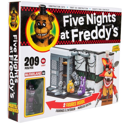Five Nights at Freddy's Parts and Service Medium Construction Set