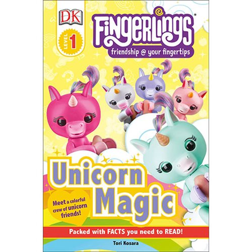 Fingerlings Unicorn Magic DK Readers Level 1 Paperback Book