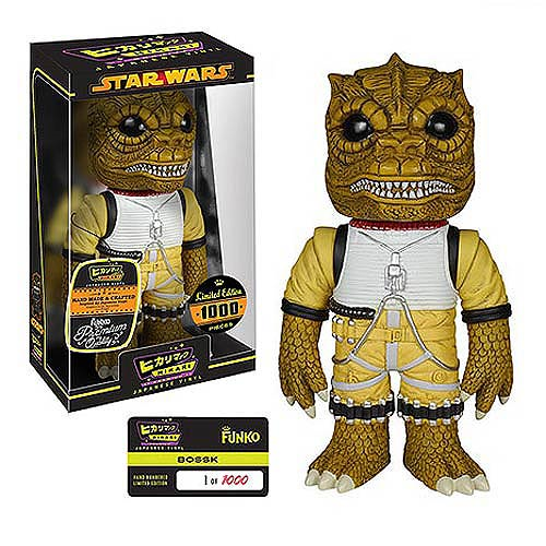 Star Wars Bossk Premium Hikari Sofubi Vinyl Figure, Not Mint