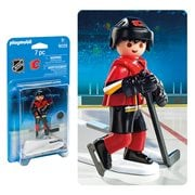 Playmobil 9025 NHL Calgary Flames Player Action Figure