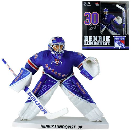 NHL New York Rangers Henrik Lundqvist 12-Inch Action Figure