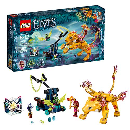 LEGO Elves 41192 Azari and the Fire Lion Capture