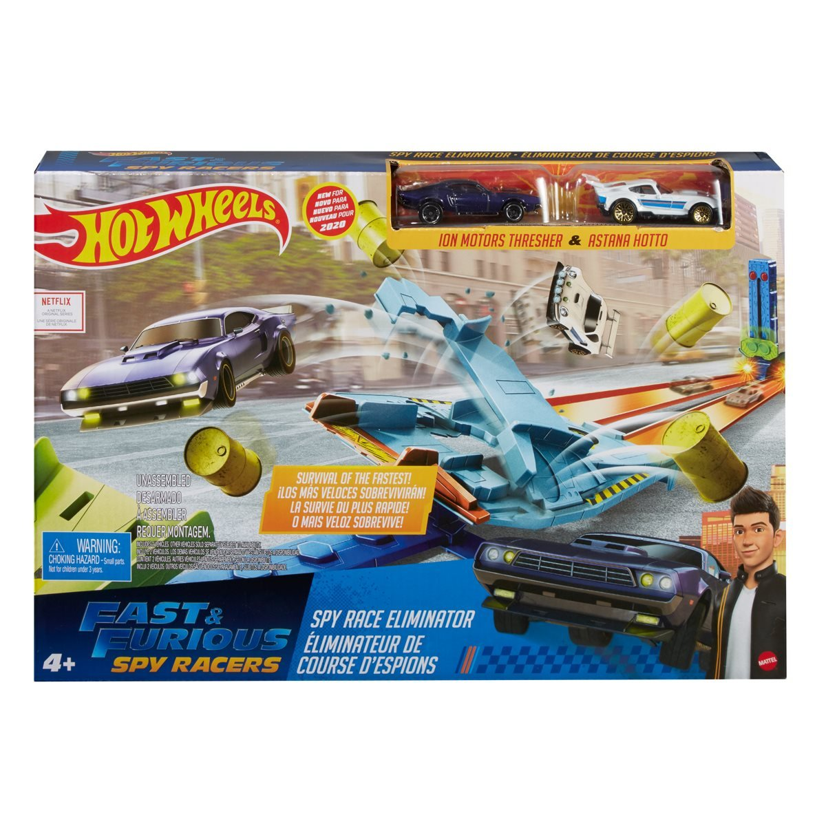 Fast Furious Spy Racers Hot Wheels Eliminator Playset