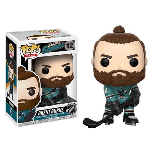 NHL Brent Burns Pop! Vinyl Figure #12