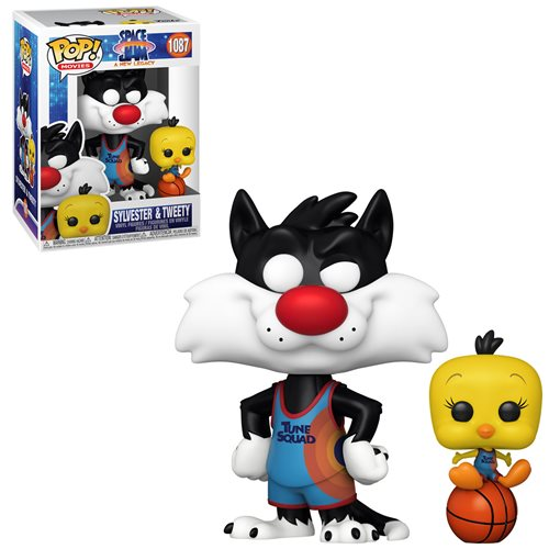 Space Jam: A New Legacy Sylvester and Tweety Pop! Vinyl Figure and Buddy
