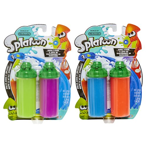 Splatoon Splattershot Refill 2-Pack Case