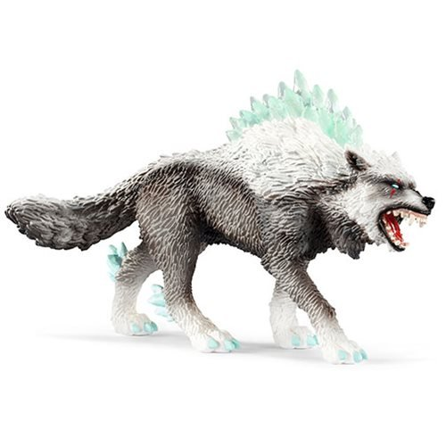 Eldrador Snow Wolf Collectible Figure